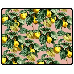 Fruit Branches Double Sided Fleece Blanket (medium)