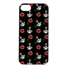Girl With Dress Black Apple Iphone 5s/ Se Hardshell Case