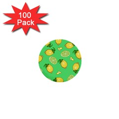 Lemons And Limes 1  Mini Buttons (100 Pack)