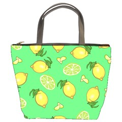 Lemons And Limes Bucket Bag