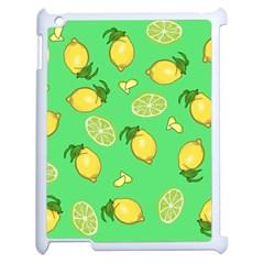 Lemons And Limes Apple Ipad 2 Case (white)