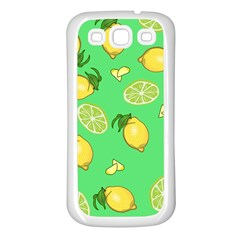 Lemons And Limes Samsung Galaxy S3 Back Case (white)
