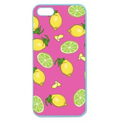 Lemons And Limes Pink Apple Seamless Iphone 5 Case (color)