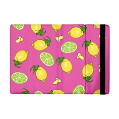 Lemons And Limes Pink Apple Ipad Mini Flip Case