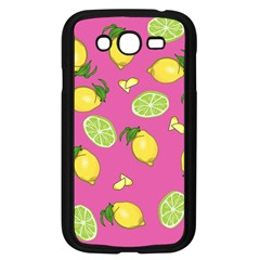 Lemons And Limes Pink Samsung Galaxy Grand Duos I9082 Case (black)