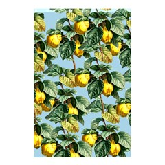 Fruit Branches Blue Shower Curtain 48  X 72  (small)