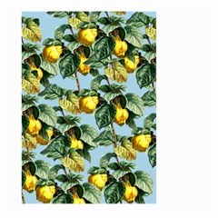 Fruit Branches Blue Large Garden Flag (two Sides)