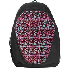Lazy Cat Ombre Pattern Backpack Bag by snowwhitegirl