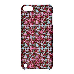 Lazy Cat Ombre Pattern Apple Ipod Touch 5 Hardshell Case With Stand
