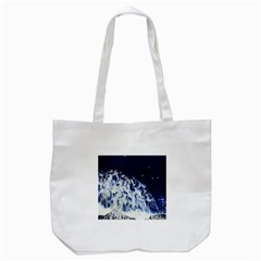 Blue Waves Sea Tote Bag (white)