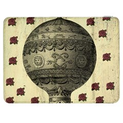 Vintage Air Balloon With Roses Samsung Galaxy Tab 7  P1000 Flip Case