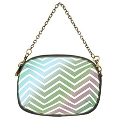 Ombre Zigzag 02 Chain Purse (one Side)