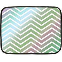 Ombre Zigzag 02 Fleece Blanket (mini)