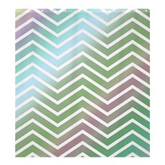 Ombre Zigzag 02 Shower Curtain 66  X 72  (large)