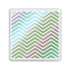Ombre Zigzag 02 Memory Card Reader (square)