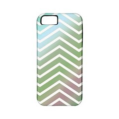 Ombre Zigzag 02 Apple Iphone 5 Classic Hardshell Case (pc+silicone)