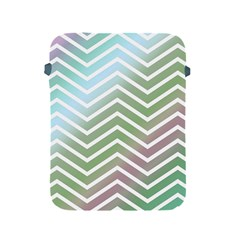 Ombre Zigzag 02 Apple Ipad 2/3/4 Protective Soft Cases