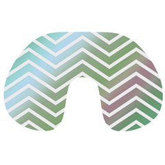 Ombre Zigzag 02 Travel Neck Pillows