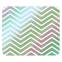 Ombre Zigzag 02 Double Sided Flano Blanket (small)