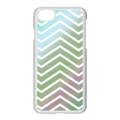 Ombre Zigzag 02 Apple Iphone 8 Seamless Case (white)