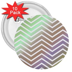 Ombre Zigzag 03 3  Buttons (10 Pack)