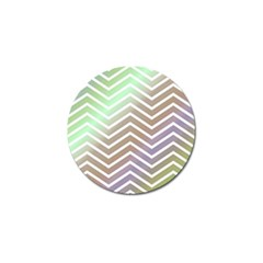Ombre Zigzag 03 Golf Ball Marker (4 Pack)