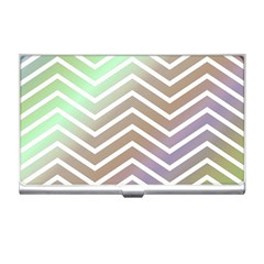 Ombre Zigzag 03 Business Card Holders