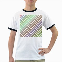 Ombre Zigzag 03 Ringer T