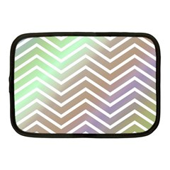 Ombre Zigzag 03 Netbook Case (medium)