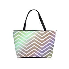 Ombre Zigzag 03 Classic Shoulder Handbag