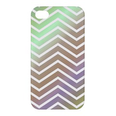 Ombre Zigzag 03 Apple Iphone 4/4s Hardshell Case