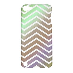 Ombre Zigzag 03 Apple Ipod Touch 5 Hardshell Case