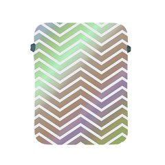 Ombre Zigzag 03 Apple Ipad 2/3/4 Protective Soft Cases