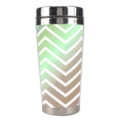 Ombre Zigzag 03 Stainless Steel Travel Tumblers
