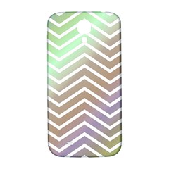 Ombre Zigzag 03 Samsung Galaxy S4 I9500/i9505  Hardshell Back Case