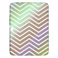 Ombre Zigzag 03 Samsung Galaxy Tab 3 (10 1 ) P5200 Hardshell Case
