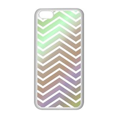 Ombre Zigzag 03 Apple Iphone 5c Seamless Case (white)