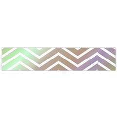 Ombre Zigzag 03 Small Flano Scarf