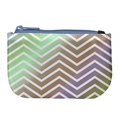 Ombre Zigzag 03 Large Coin Purse