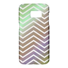 Ombre Zigzag 03 Samsung Galaxy S7 Hardshell Case