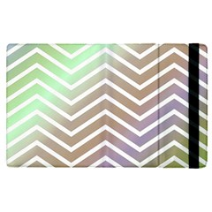 Ombre Zigzag 03 Apple Ipad Pro 9 7   Flip Case