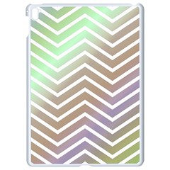 Ombre Zigzag 03 Apple Ipad Pro 9 7   White Seamless Case
