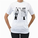 1273488150 Women s T-Shirt (White) (Two Sided)