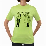 1273488150 Women s Green T-Shirt