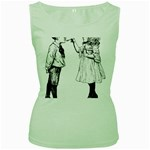 1273488150 Women s Green Tank Top