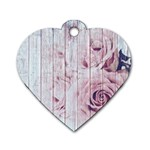 Vintage 1802821 1920 Dog Tag Heart (Two Sides)