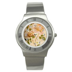 Rose Flower 2507641 1920 Stainless Steel Watch
