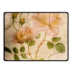 Rose Flower 2507641 1920 Double Sided Fleece Blanket (small)