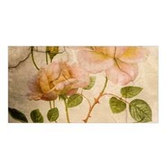 Rose Flower 2507641 1920 Satin Shawl