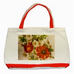 Poppy 2507631 960 720 Classic Tote Bag (red)